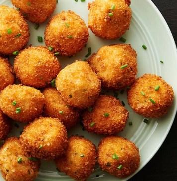 potato cheese balls recipe