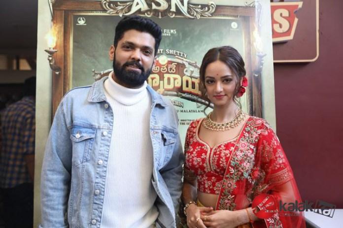 Avane Srimannarayana Movie Trailer Launch Photos