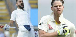 Smith clashes with Virat Kohli