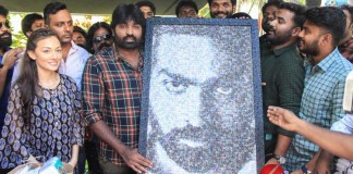 Actor Vijaysethupathi Birthday celebration with YOYK Unit