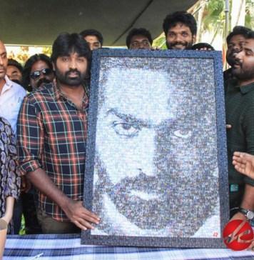 Actor Vijaysethupathi Birthday celebration with YOYK Unit