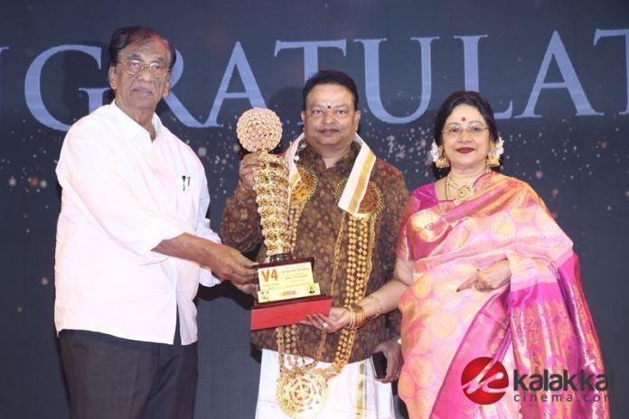 V4 MGR Sivaji Academy Awards 2020 Photos