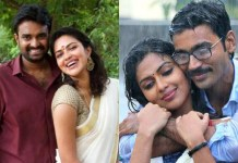 Amala Paul and Dhanush