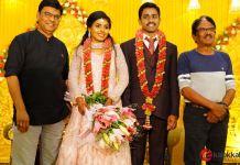 Meendum Oru Mariyathai Actress Nakshatra Wedding Photos