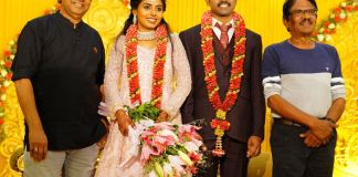 Meendum Oru Mariyathai Actress Nakshatra Wedding Photos