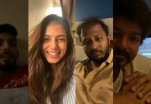 Vijay Video Chat With Master Team