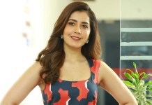Actress Rashi Khanna in School Life