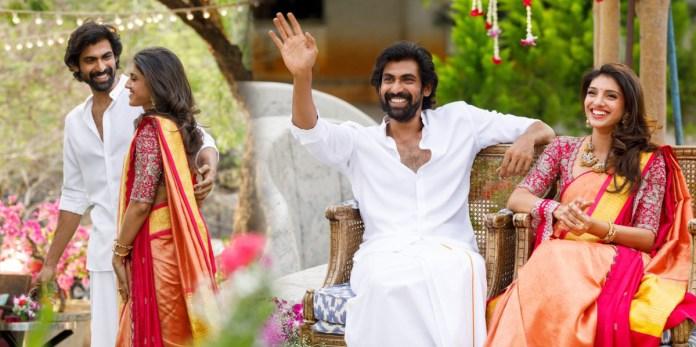 Actor Rana Daggubati and Miheeka Bajaj Engagement Photos