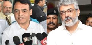 Karnataka Deputy CM Wishes to Ajith