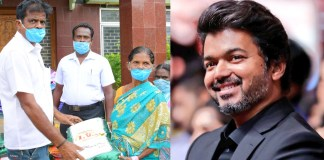 PT Selvakumar Helps on Vijay Birthday