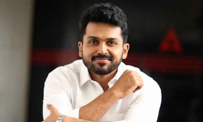 Karthi Decision on His Salary