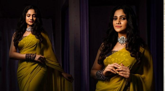 Gorgeous Actress Losliya Latest Photoshoot Stills