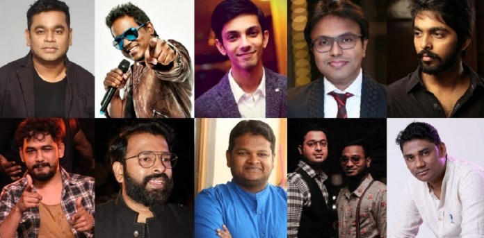 Top 10 Paid Composers in India