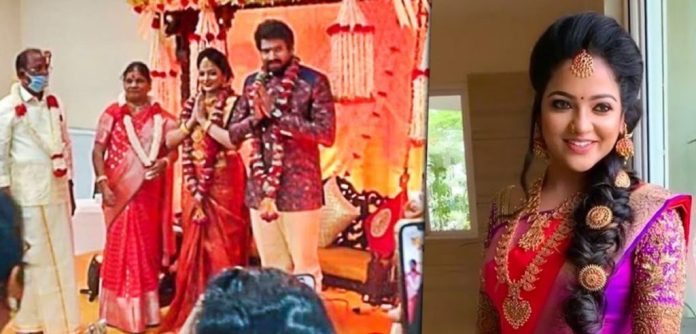 VJ Chithra Engagement