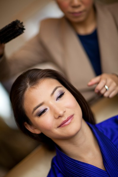 Kalamakeup wedding makeup and hair styling service for Eva