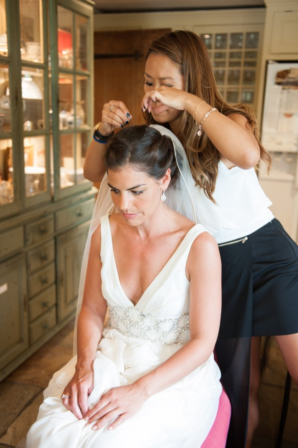 Kalamakeup wedding makeup and hair styling for Jocelyn