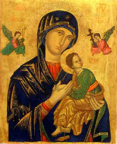 Mother of Perpetual Help, Pray for Us