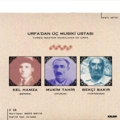 Urfa'dan Üç Musiki Ustasi – Kel Hamza (Şenses), Mukim Tahir (Oturan), Bekçi Bakir (Yurtsever)