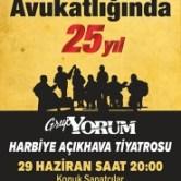 """Grup Yorum """"Harbiye Cemil Topuzlu Açıkhava"""" Konseri"""