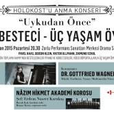 "Renan Koen ""Holokost'u Anma Konseri"""