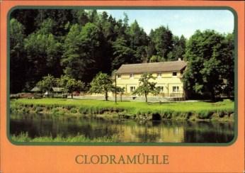 Clodramühle képeslap 1