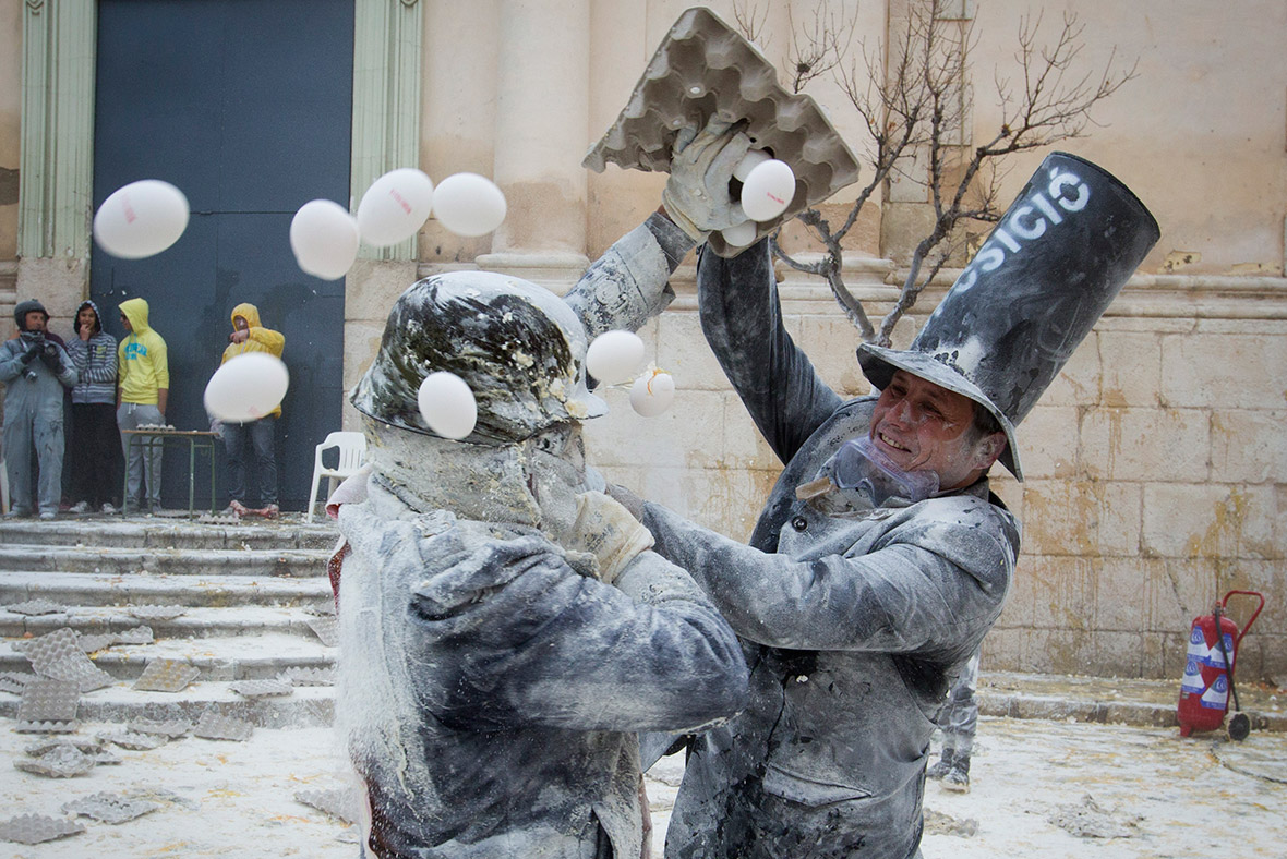 Ezek a spanyolok megőrültek? - 7 furcsa fesztivál