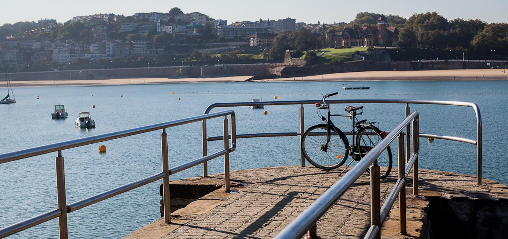 Bicicleta Donostia Isla