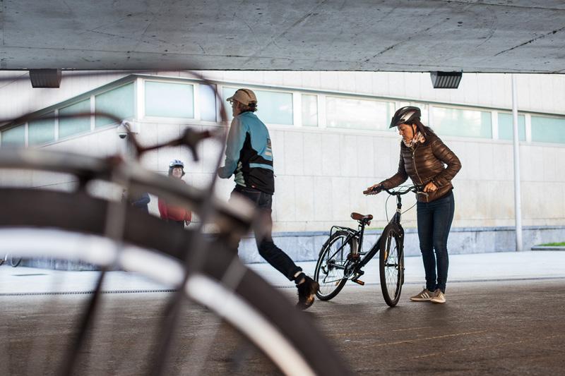 Aprender a andar en bici