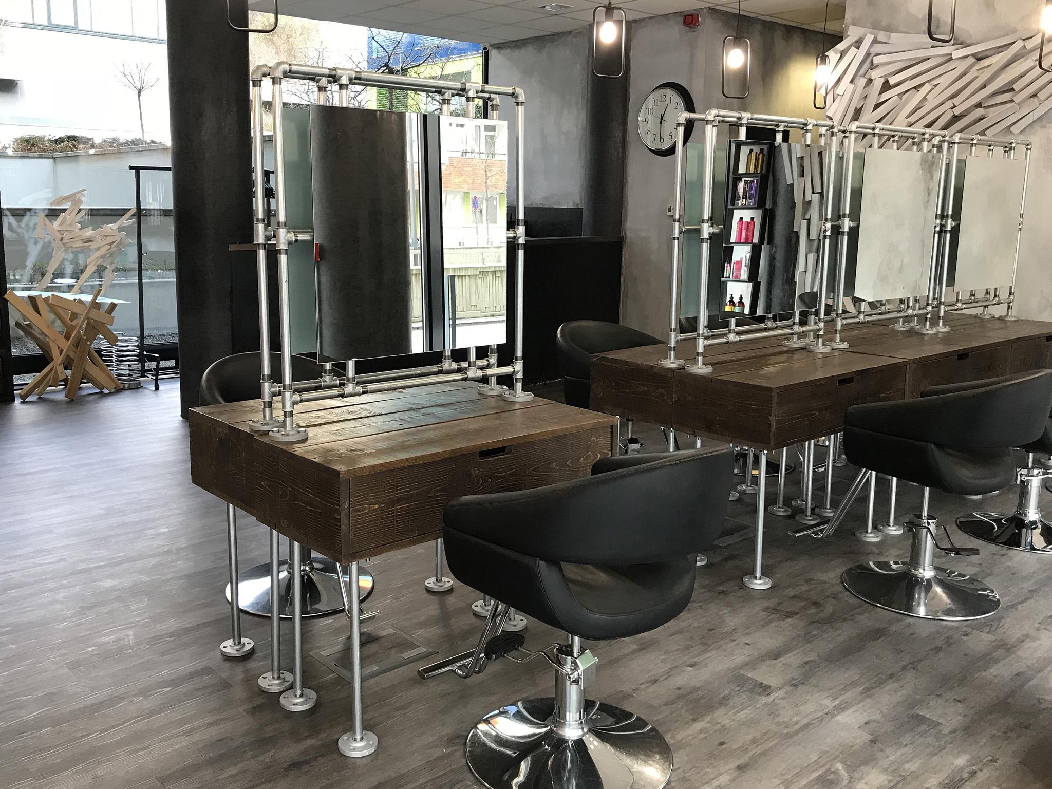 White Hair Salon bútorok, kalaPP Művek