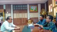 Silaturahmi ke Wabup Sujiwo, Koorwil Yakorma Kalbar diminta Bersinergi
