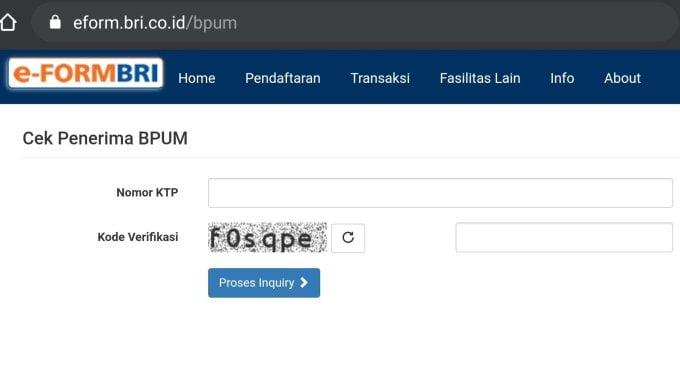 Daftar Online Blt Umkm Tahap 3 Buka Link Eform Bri Co Id Bpum Kalbar Satu