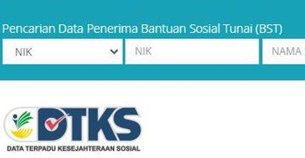 Cek Online Penerima Bansos