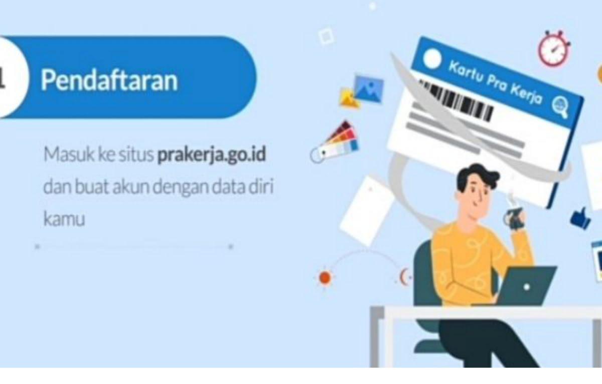 CEK PENGUMUMAN Hasil Seleksi Gelombang 20 Kartu Prakerja, Login www.prakerja.go.id/tangkap layar