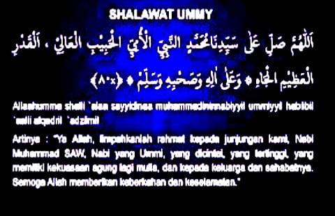 KUMPULAN Bacaan Sholawat Nabi Muhammad SAW dan Sholawat Nabi Bahasa Arab Indonesia