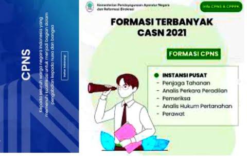 18++ Link daftar cpns 2021 lulusan smk info