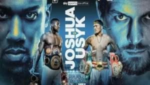 Jadwal dan Link Live Streaming Anthony Joshua vs Usyk, Cara Nonton Tinju Dunia di Sky Sports & DAZN