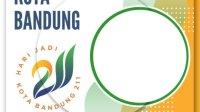 Link Download Twibbon HUT Kota Bandung, Hari Jadi ke-211 pada 25 September 2021