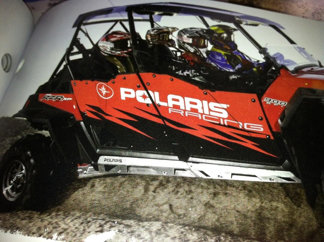 Graphics on Polaris Razor