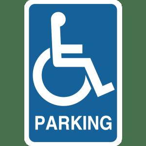 Stock Signs - Handicap Parking