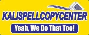 Kalispell Copy Center Sign