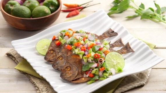 Resep Ikan Goreng Sambal Dabu Dabu