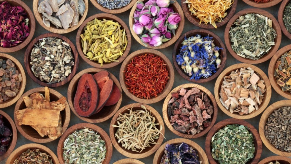 herbs with polyphenols