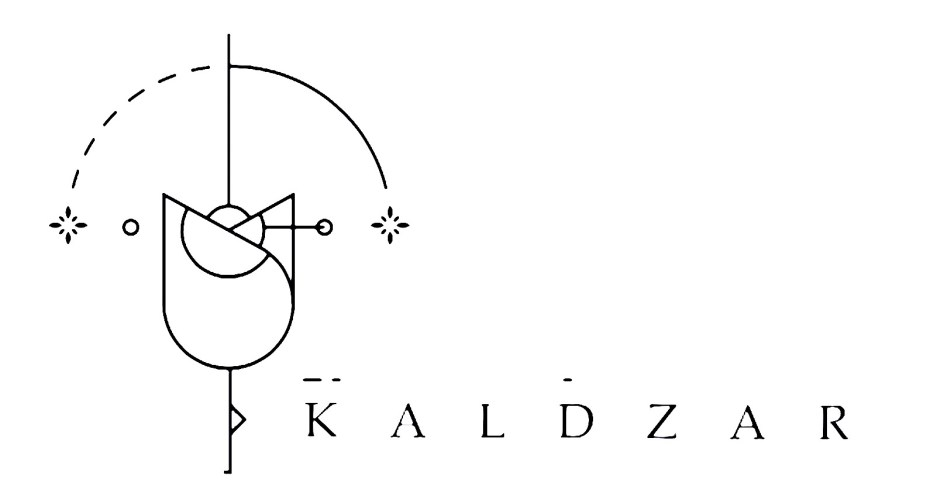 kaldzar_white_logo