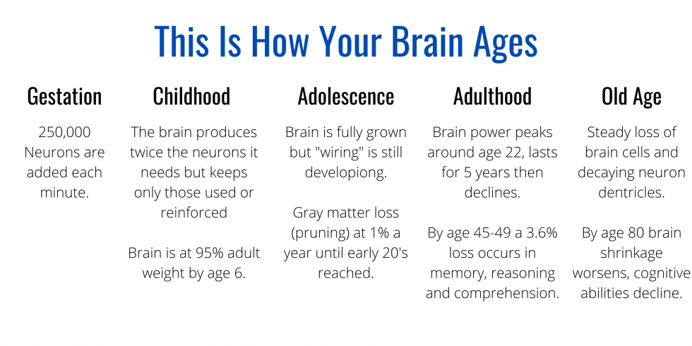 How Your Brain Ages