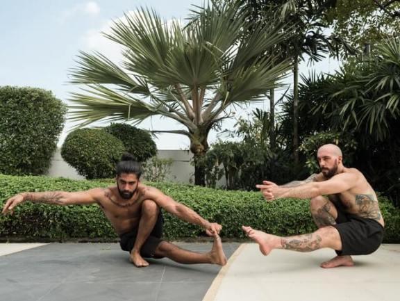 Working on Flexibility and Balance. Image by Arthouse Studio.