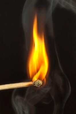 Burning. By Pixabay.