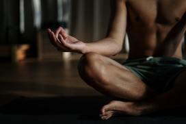 Meditating. Image by Cottonbro.