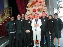 Amgard (American Garden Theater) Crew with Neil Patrick Harris - Candlelight 2010