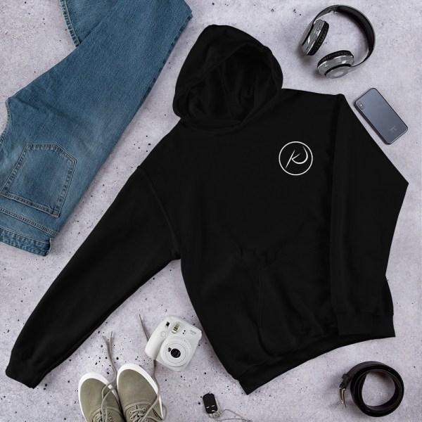Kaleb Justice Brand Black Hoodie Product Mockup