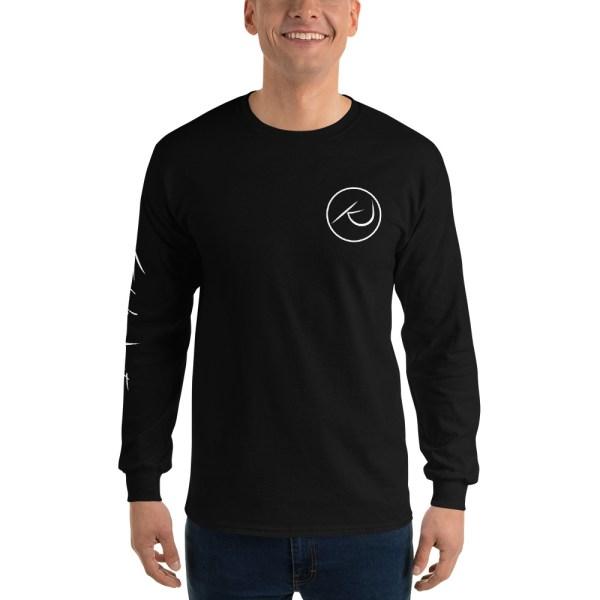 Kaleb Justice Brand Black Long Sleeve T-Shirt